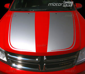 2008-2014-Dodge-AVENGER-Hood-Blackout-Decals-Graphics-Stripes-Accent-09-10-11-12