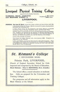 1934 Liverpool St Edmunds College Devonshire Road Physical Training Miss Marsh A - <span itemprop=availableAtOrFrom>Jarrow, United Kingdom</span> - If for any reason you are not satisfied with your item, do let us know. If you wish to return it, you may, within 7 days, and we will issue you with a full refund. Most purchases from busi - Jarrow, United Kingdom