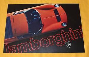 Lamborghini-Miura-Jarama-Espada-Prospekt-Brochure-Depliant-Prospetto-Catalog