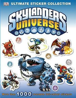 Skylanders Universe Ultimate Sticker Collection (Ultimate Stickers), DK, Very Go