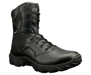 NEW-MAGNUM-STYLE-5381-COBRA-8-0-BLACK-LEATHER-DUTY-BOOT-WATERPROOF-400-grms-ins