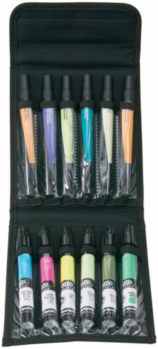 PRESTIGE ALVIN Marker Carry Case Black Nylon Holds 12 Markers Storage