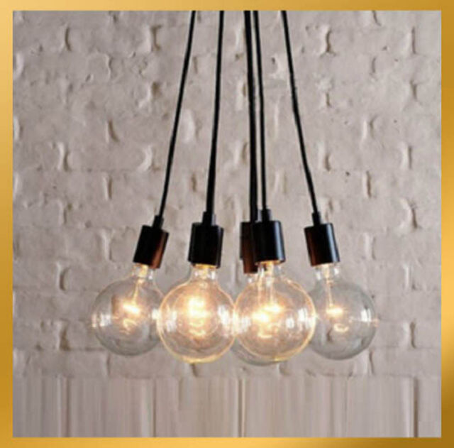 7 Light - Contemporary Edison Chandelier Light Pendant Lamp Ceiling Hanging