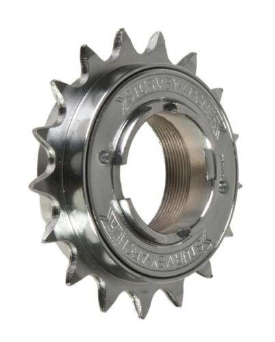 """NEW Sturmey Archer Chrome Plated Singlespeed Freewheel 1//2 x 3//32/"""""""