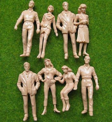 P25B 40pcs Model Trains 1:25 Scale WHITE Figures LGB G