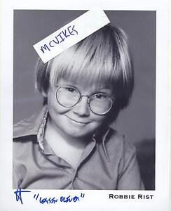 Robbie-Rist-Oliver-The-Brady-Bunch-Autographed-Signed-8x10-Photo-COA