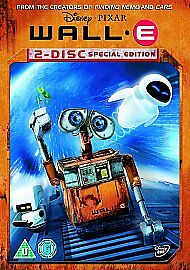 WALL-E DVD 2 DISC SPECIAL EDITION UK REGION 2 DISNEY KIDS ANIME FILM MOVIE