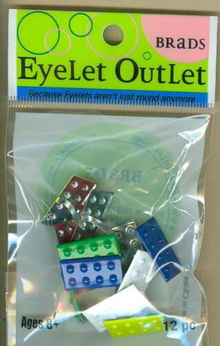 Building Blocks Mix Brads Eyelet Outlet