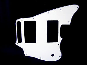 White-black-white-pickguard-fits-Fender-Blacktop-Jaguar-guitar-2011