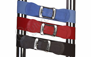 Clearance-Buckle-Elastic-Belt-Sequins-Waistband-Mix-Colour-Size-8-18-HQ-FP29