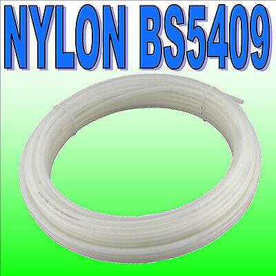 METRIC Flexible Nylon Pneumatic Air Line Tubing Compressed Airline Pipe Tube UK