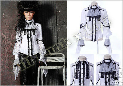 Gothic Renaissance Visual Royal Ultima Arch Mage aristocrat dress shirt 21143 W