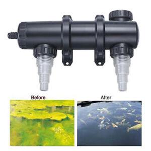 new 18 watt koi pond aquarium uv sterilizer clarifier ebay