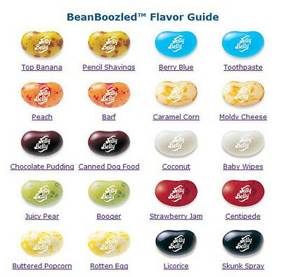 2nd EDITION Jelly Belly BEAN BOOZLED Trick Party Candy 1, 2 & 3 lbs