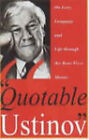 Quotable Ustinov by Peter Ustinov (Hardback, 1995)