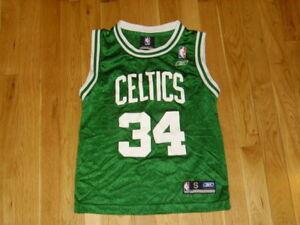Image Is Loading Reebok Paul Pierce Green Boston Celtics Youth Nba