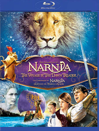 Chronicles Of Narnia - The Voyage Of The Dawn Treader (Blu-ray, 2011, 3-Disc Set