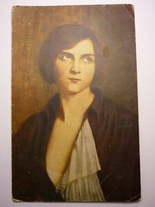 Antique French Postcard Courtois Youth