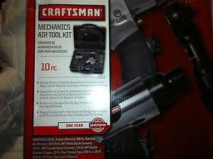 CRAFTSMAN-MECHANICS-10-PIECE-AIR-TOOL-KIT-916852-NEW
