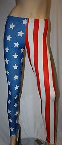 AMERICAN-FLAG-STARS-STRIPES-USA-PRINT-LADY-GAGA-LEGGINGS-INSANITY