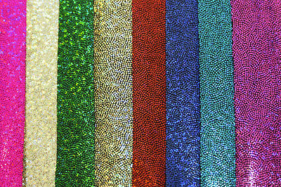 "MYSTIQUE SPANDEX FABRIC STRETCH CHOICE OF COLOR 1 YARD DANCE GYMNASTICS 58"" BTY"
