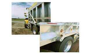 Dump-Truck-Electric-Tarp-Kit-12-gauge-Galvanized-Steel-Arms-4-spring-w-MESH-TARP