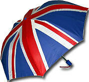 Union Jack Umbrella , British Flag Umbrella (Mini)