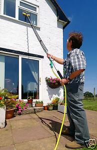 8 Metre Telescopic Window Cleaner Glass Cleaner Diy