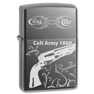 COLT-ARMY-1860-PISTOL-ZIPPO-LIGHTER-MINT-IN-BOX
