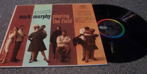 "Mark Murphy ""Playing The Field"" CAPITOL MONO JAZZ LP ARR. BILL HOLMAN"