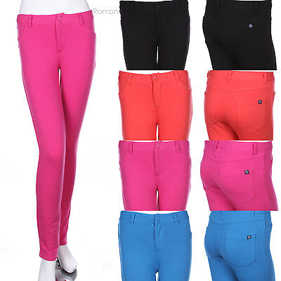 Skinny Fit Brazilian Moleton Stretch Cotton Terry Long Pants Leggings Low Rise