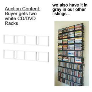 2-New-IKEA-CD-DVD-Holder-Racks-Wall-Shelf-Media-Storage