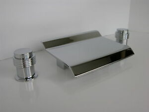 Waterfall wall mount bathroom spout tub spouts faucet chrome ebay - Allbrass Tub Waterfall Faucet Chrome Bathroom Faucets I Ebay