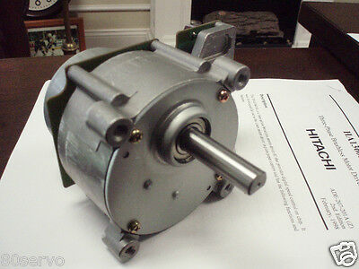 JAPAN SERVO CO.  BRUSHLESS 24VDC GEARED MOTOR WITH HITACHI DRIVER CHIP 120 RPM