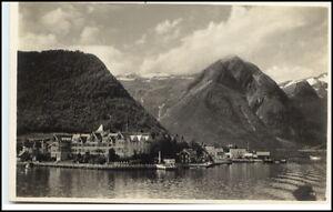 Norge-Norway-Norwegen-Brevkort-Postcard-1927-BALHOLM-Kviknes-Hotel-tolle-AK