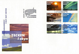 SWEDEN-2000-SIGNS-IN-THE-SKY-FIRST-DAY-COVER-STOCKHOLM-SHS