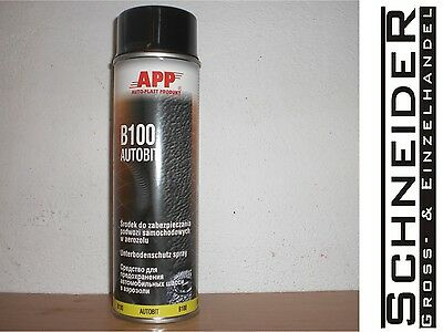 Unterbodenschutz, Bitumen, B100, schwarz, 500ml Spraydose, #050600