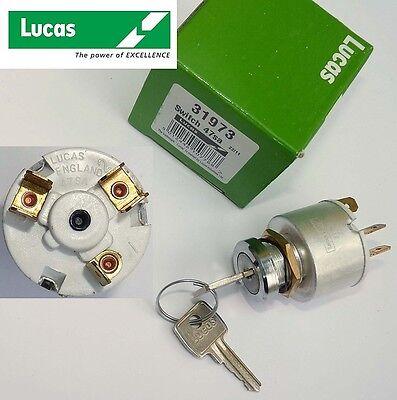 Lucas 31973, 47SA Ignition Switch for Mini, Morris Minor Sprite, Midget, 13H337