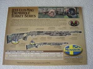 MOSSBERG-SPORTING-FIREARMS-835-THUMBHOLE-TURKEY-2005-GUN-BROCHURE-CATALOG