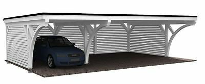 Carport Bausatz 9.00 x 6.00 mit 33% Onlinerabatt Premium Carport ab Werk