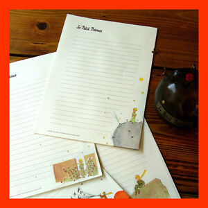 6-Sheets-Le-Petit-Prince-Writing-Paper-With-2-Envelopes