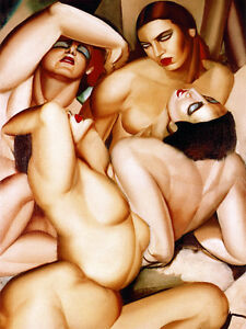 Art Tamara de Lempicka Nude Ceramic Mural Backsplash Bath Tile #1426