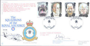 1997 Tales of Horror RAF FDC signed CO 13 Tornado Sqn HETHERINGTON