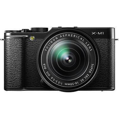 Fujifilm X-M1 silber mit XC 16-50mm OIS  B-Ware vom Fujifilm Fachhändler