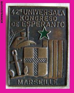 IP405-42-CONGRES-UNIVERSEL-ESPERANTO-MARSEILLE-1957