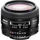 Nikon Nikkor AF 28mm F/2.8 D FX Lens