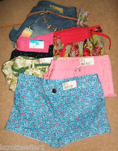 PRIMARK-SIZE-8-10-12-18-20-SURFER-DENIM-COTTON-BEACH-SHORTS-HOTPANTS-BNWT
