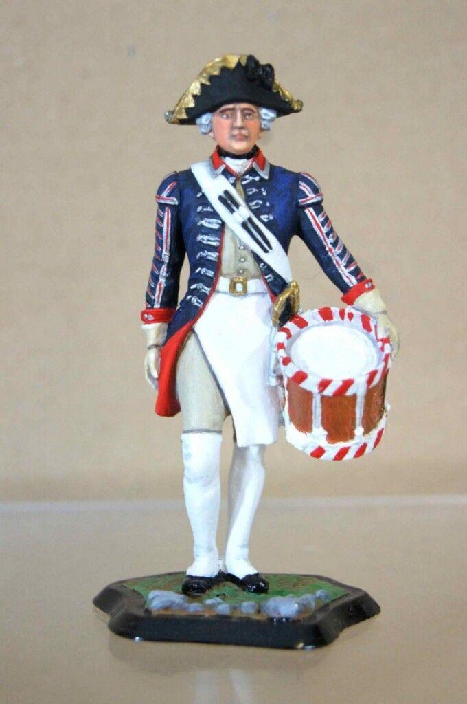 Tradición Stadden Prusiano 1st Guardia Tamborilero 1756 Seven Years Guerra