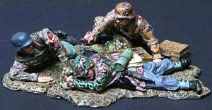 THOMAS GUNN WW2 GERMAN SS003A 5CM MORTAR TEAM SPRING MIB
