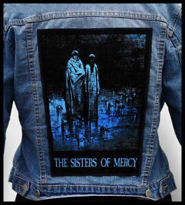 SISTERS-OF-MERCY-Huge-Back-Jacket-Patch-the-cure-bauhaus-nine-inch-nails